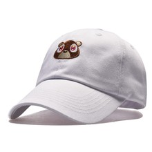 Cora Wang Snapback men s hats Baby Bear Embroidery Baseball Caps fitted cap  Solid Color off white 0ab6d345f6d1