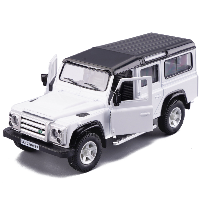 1:36 Scale Model Cars For Land Rover Defender Toy Vehicles Alloy Diecast Car Vehicles Model Cars Toys For Kids Birthday Gift