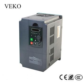 7.5KW 220 V AC Singola Fase di Ingresso Uscita di Fase 3 30A Convertitore di Frequenza VFD Convertitore di Frequenza Del Motore Driver del Controller 50 /60Hz
