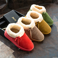 2016 new fashion style women solid thicken snow boots female causal bow warm comfortable flat ankle shoes ST1517