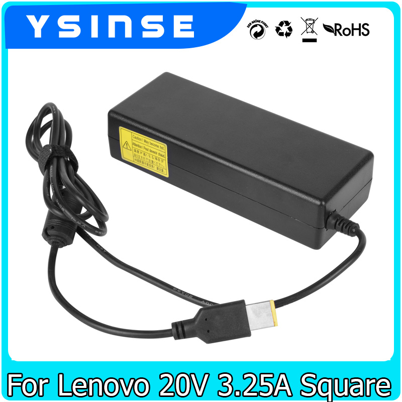 цены 20V 3.25A Laptop Charger Adapter Power Supply For Lenovo Thinkpad G50 X240 T431S X1 Carbon Ideapad Yoga 11 13 Portable Charger