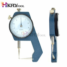 Thickness Dial Gauge 0-20mm Leather Thickness Metal Tester Measure Leathercraft Tool Craft Measuring Gage Tool Caliper