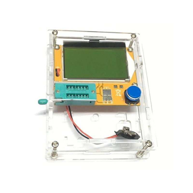 Diy Esr Meter : Diy case shell transistor tester cover part for lcrt esr