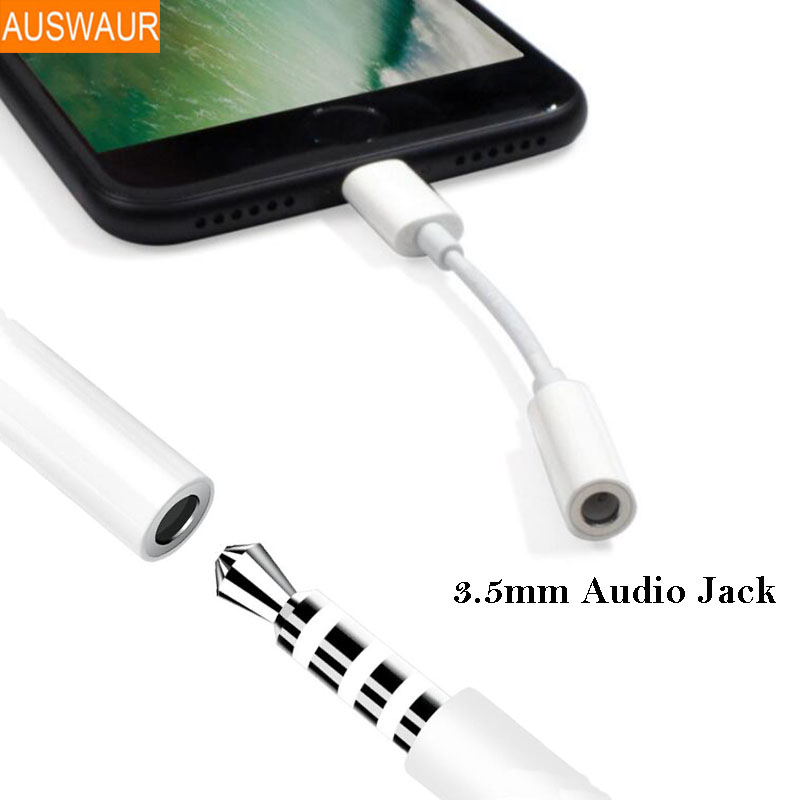 3.5Mm Aux Audio Adapter For Iphone 7 eight Plus X Xr Xs Max Audio Adapter 3.5 Jack Headphone Earphone Adapter Help Music