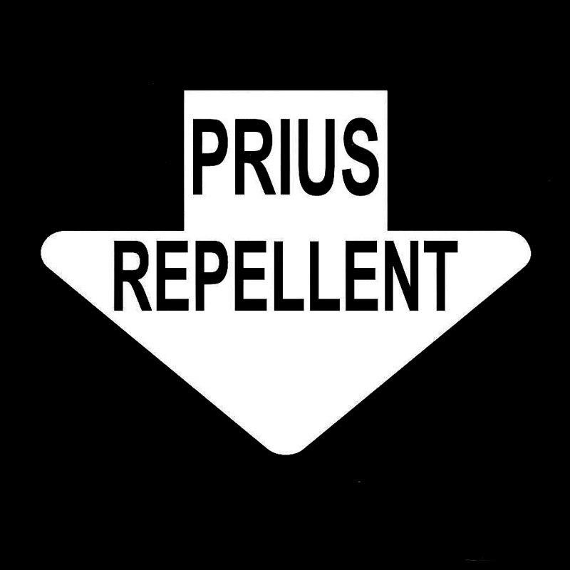 PEGATINA PRIUS REPELLENT COLOR DECAL VINYL STICKER AUTOCOLLANT