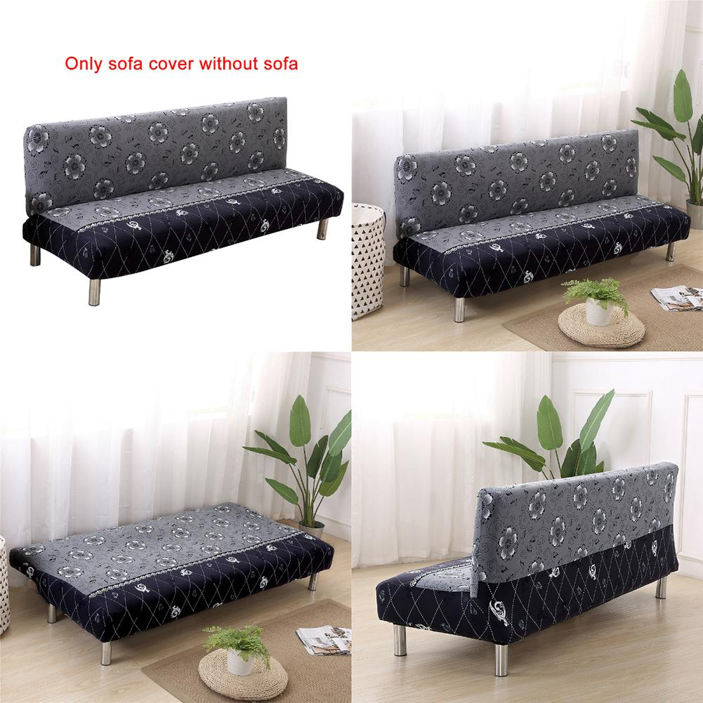 Sofa Bed Auckland Cheap: Universal Size Armless Sofa Bed Cover Folding Seat