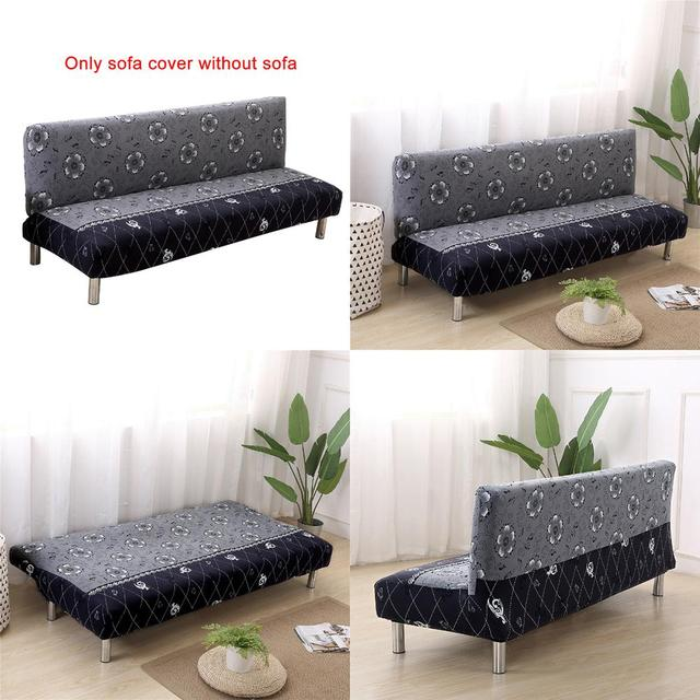 Miraculous Us 14 59 31 Off Universal Size Armless Sofa Bed Cover Folding Seat Slipcovers Stretch Cheap Couch Protector Elastic Bench Futon Covers 5839 In Download Free Architecture Designs Scobabritishbridgeorg