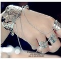 Fashion bangles ring one piece female personality hand ring jewelry bracelet decoration