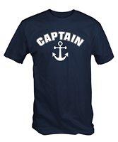 رجل الكابتن مرساة بحري الإبحار ر قميص قصير كم t-shirt شحن مجاني قمم الصيف بارد مضحك shirt