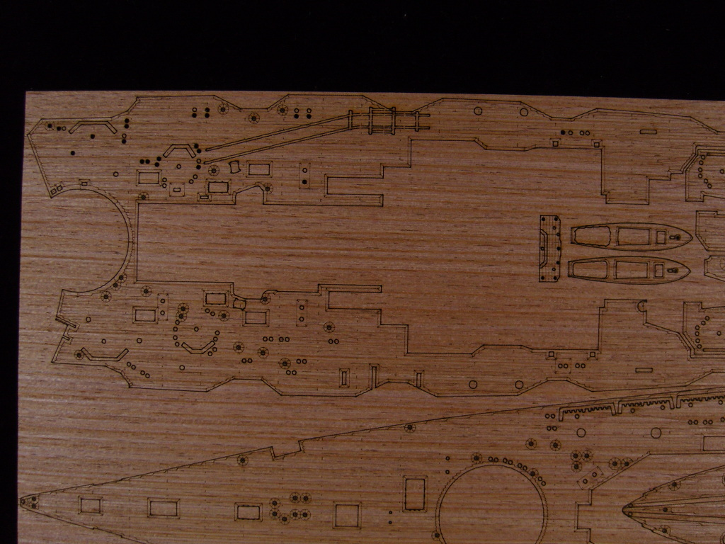 /FUJIMI ARTWOX 60000 Japanese diamond battleship wooden deck with PE AW10040 ba904 academy wwii german artwox battleship bismarck wood deck aw10047
