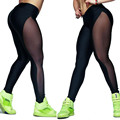 2016 Top Selling Women Mesh Leggings Gothic Punk Rock Outside Fitness Elastic Push Up Femme Legging Ropa Deportiva Mujer #OR1