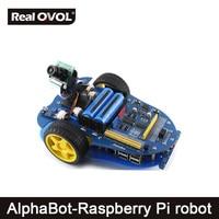 AlphaBot Pi Raspberry Pi Robot Building Kit Original Element14 Raspberry Pi 3 Model B AlphaBot Camera