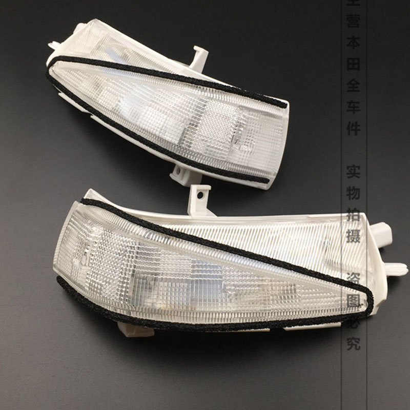 цены на 2Pcs Right and Left Side LED Rearview Turn Signal lights Mirror Lamp For Honda Civic 2007 2008 2009 2010 2011 OEM 34300-SNB-013