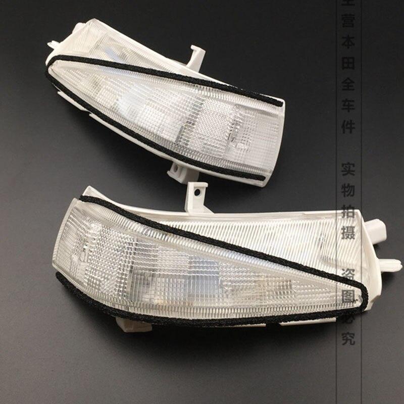 2Pcs Right and Left Side <font><b>LED</b></font> Rearview Turn Signal lights Mirror Lamp For Honda Civic 2007 2008 2009 2010 2011 <font><b>OEM</b></font> 34300-SNB-013