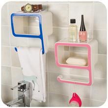 Nwe Belt Hanger Plastic Bathroom font b Storage b font Shelf Wall Mounted Type Eco friendly