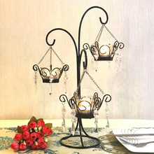 Candle Holders Wedding Candlestick Christmas 3d Modern Design Holder Kaarsen Kandelaars Home Decoration Romantic 50KO239
