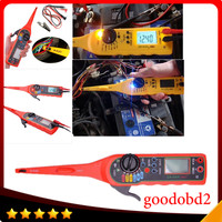 Auto Circuit Tester Multimeter Lamp Car Repair tool 0V-380V tester lamp Electricity Detector and Lighting 3 in 1 yellow colour