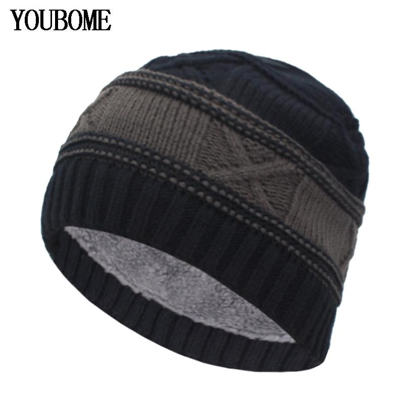 YOUBOME Fashion Winter Hats For Men Women Skullies Beanies Men Knitted Hat  Male Caps Bonnet Warm Fur Brand Winter Beanie Hat Cap - Hot Deal #FAAE3D |  Cicig