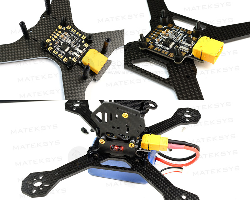 Matek PDB-XPW 3-5S lipo built-in 140A current sensor for DIY FPV ture-X cross racing quadcopter drone