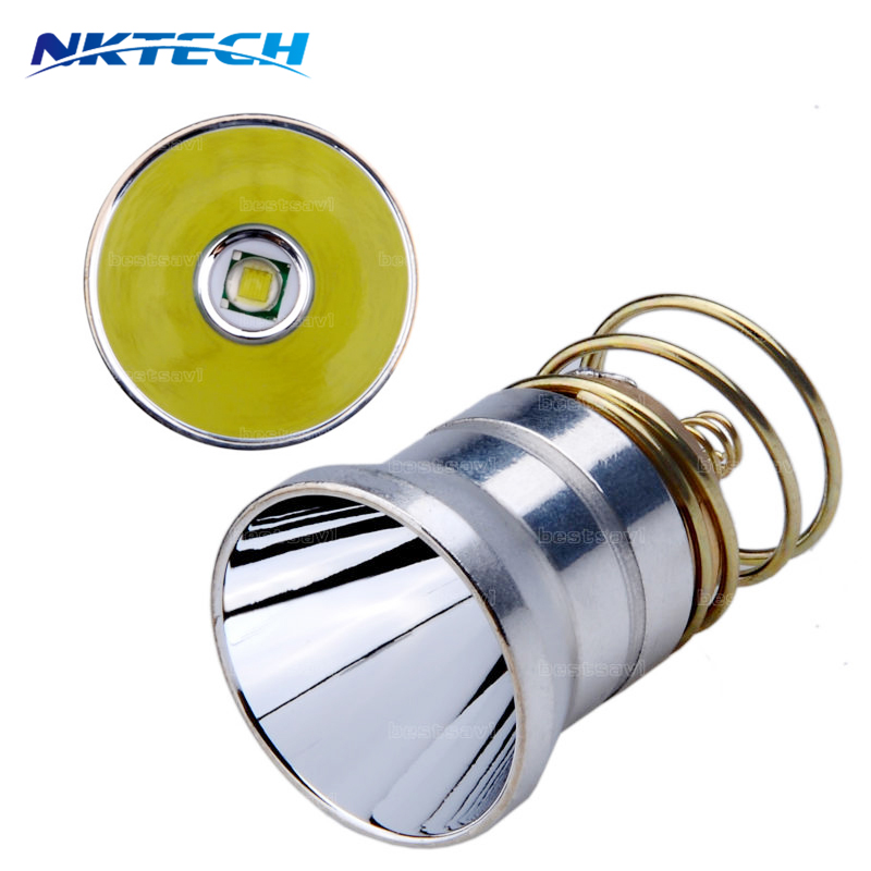 1000 Lumens T6 LED Bulb Flashlights Spare bulb 1Mode 3.7-8V for Surefire C2 Z2 P60 P61 6P 9P G3 S3 D2 Ultrafire 501B 502B купить