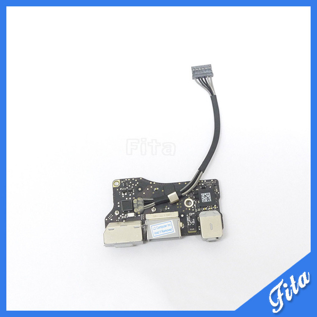 "Original 661-5792 820-2869-B Audio Power Board For Macbook Air 13.3"" A1369 MC503 MC504 DC-in Power Jack Magsafe Board Late 2010"