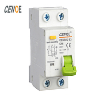 Free Ship CE Approval DPNL 16A 230V 50HZ 60HZ 1P N Residual Current Circuit Breaker With