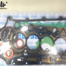 Комплект для ремонта двигателя CHERY A1, KIMO, FACE, ARAUCA, QQme, JAGGI, QQ6, QIYUN, RIICH, YOYA, V2, VANCARGO, двигатель SQR473F металлическая крышка цилиндра