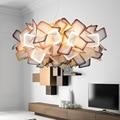 LED anhänger lichter wohnzimmer ausgesetzt beleuchtung Nordic lampen home deco leuchten schlafzimmer hängen lichter Acryl-in Pendelleuchten aus Licht & Beleuchtung bei