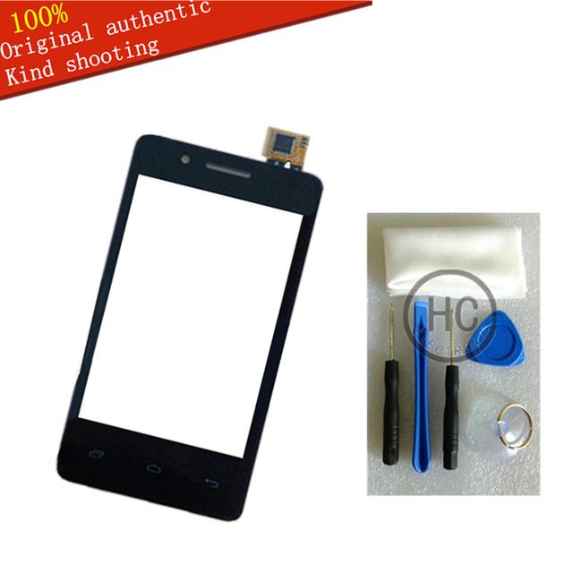 Envío DIY Tools + Original nueva para mosca IQ436i ERA Nano 9 pantalla táctil capacitiva de vidrio mosca IQ436i con pantalla táctil negro