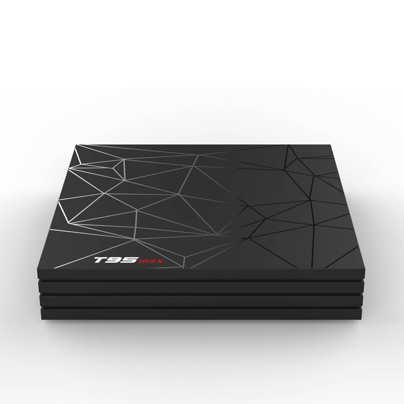 Image 2 - T95 MAX Android 9.0 TV BOX TV Inteligente Allwinner H6 4 GB DDR3 32 GB EMMC 2.4 GHz 5.8 GHz WiFi Bluetooth5.0 4K Set Top Box-in Set-top Boxes from Consumer Electronics