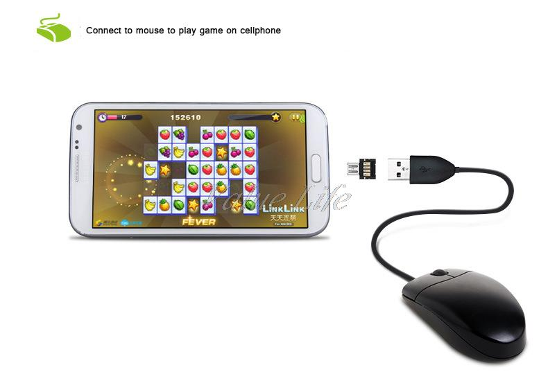 Hook up mouse to android phone
