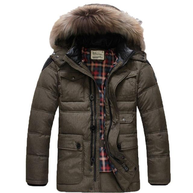 2015 новое поступление зимние пальто мужчин пуховик с капюшоном тонкое пиджаки сгущает мужчины куртка пуховик зимнее пальто куртки 150