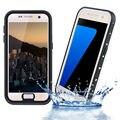 Punto serie impermeable ip68 de plástico case para samsung galaxy s7 edge teléfono capinha coque cubierta bajo el agua a prueba de golpes a prueba de agua