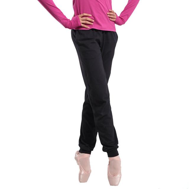 Formación de ballet de danza del vientre América gimnasia leotardo otoño invierno nueva caliente pantalones de algodón leotardo de gimnasia