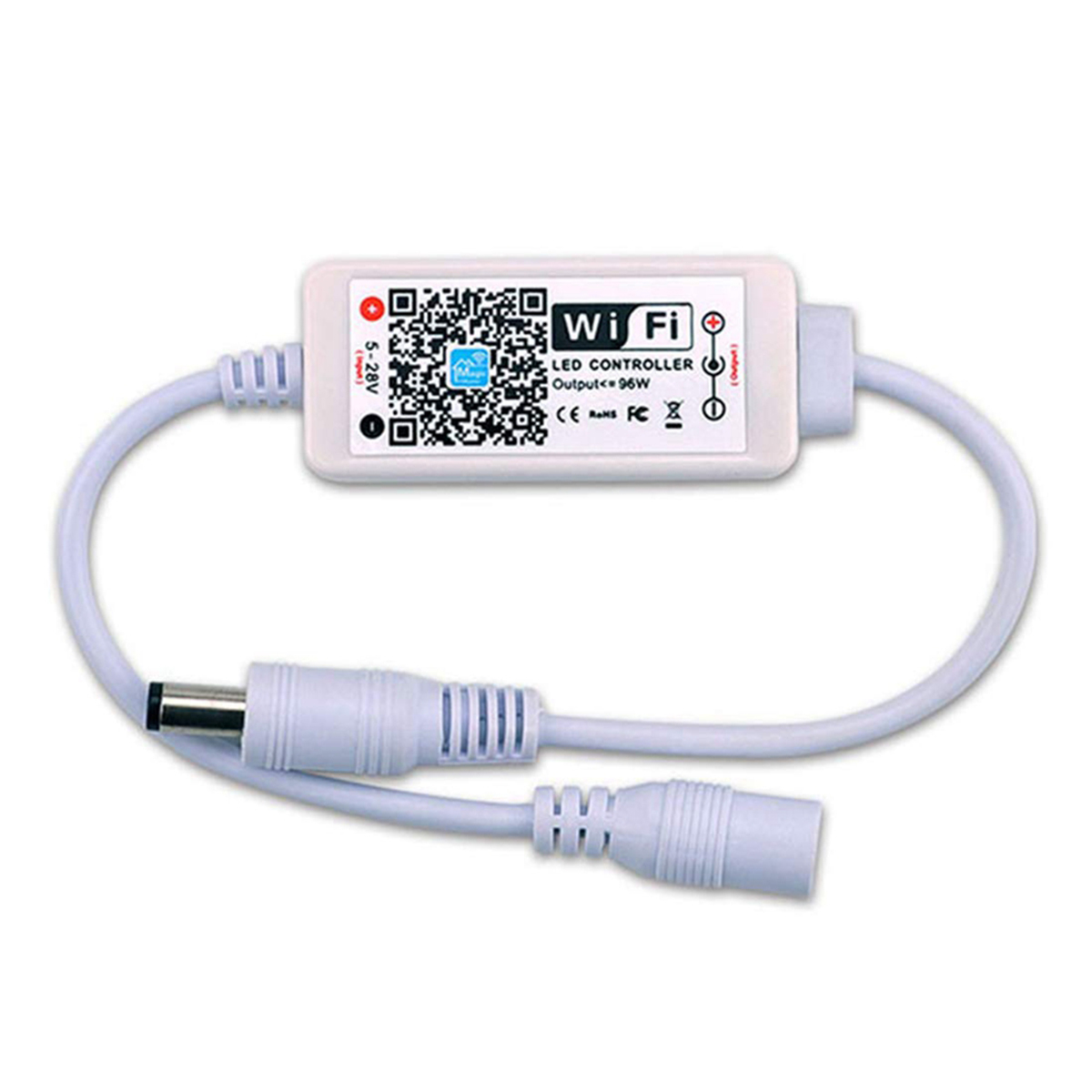 Smart Single Color <font><b>LED</b></font> WiFi Controller 5-28V 96W <font><b>LED</b></font> Strip Light <font><b>Remote</b></font> Controller Support Voice Control image