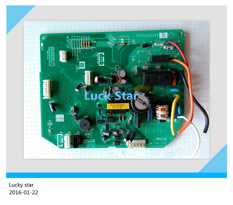 95% new for Mitsubishi Air conditioning computer board circuit board RYD505A044H good working цена 2017