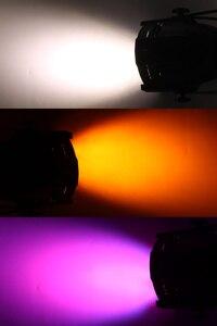 Image 5 - Djworld led 18x18 w par luz de fundição alumínio estágio par rgbwa + uv 6in1 lavar dmx 512 powercon para disco dj música festa clube dança