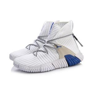 Image 5 - (Break Code) li ning mężczyźni WUKONG Lifestyle buty wysokie cięcie Mono przędza re fit LiNing Li Ning buty sportowe trampki AGLN131 YXB237
