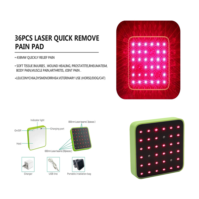 36pcs laser therapy device