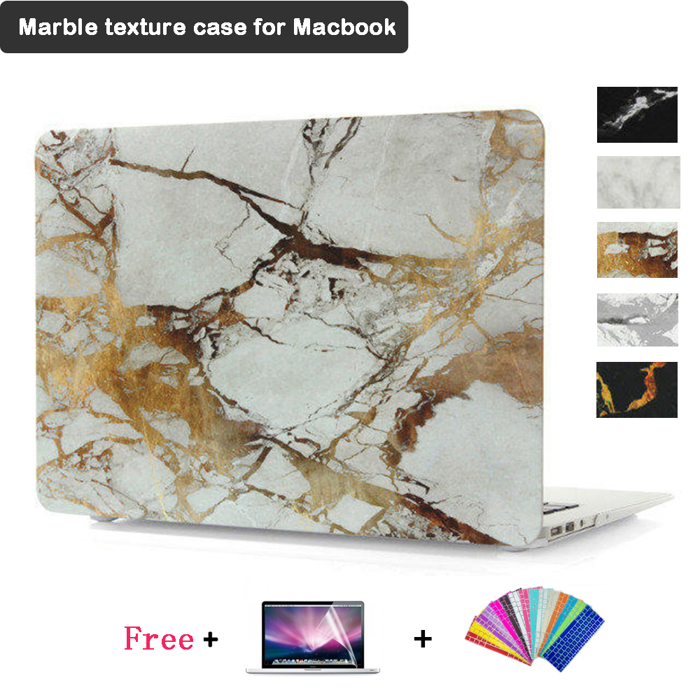 Marble Laptop Case for MacBook 13.3 air pro retina A1369 A1466 A1278 A1369 A1466 Fashion Case for Macbook Air Pro 13.3inch