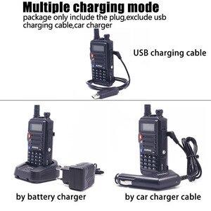 """Image 4 - 2PCS BaoFeng UV S9 עוצמה ווקי טוקי רדיו משדר 8W 10 ק""""מ ארוך טווח נייד רדיו סט להאנט יער & עיר"""
