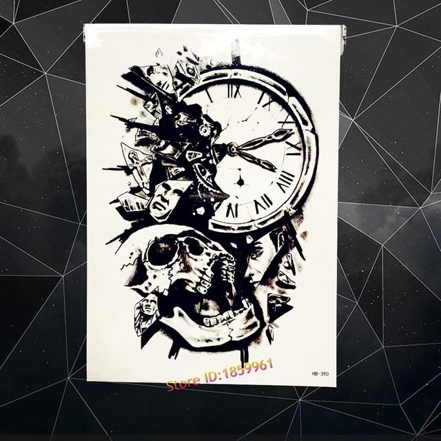 Dessin Horloge Pour Tatouage