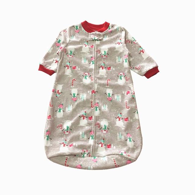 9e3f78a77423 Baby Sleeping Bag Baby Sleepers Kids Pajamas Autumm Winter Velour ...