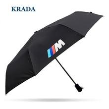 Stlying coche Para BMW m emblema E30 E46 E60 E90 E92 E93 F30 F10 F15 F16 E85 E86 E34 E36 E39 E38 E53 X5 X3 M3 M5 Plegable paraguas