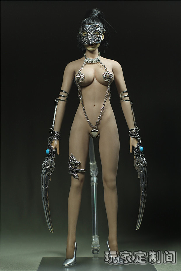 """ФОТО 1/6 figure doll clothes accessories female sexy dress for 12"""" action figure doll fit phicen doll.not include doll and other 2520"""