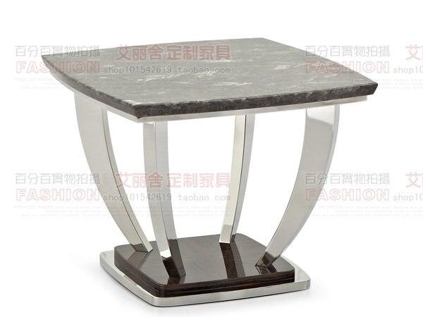 luxury villa project ebony pearl jade marble coffee table small coffee table stainless steel. Black Bedroom Furniture Sets. Home Design Ideas