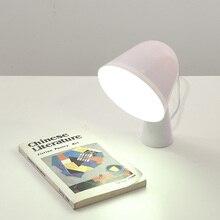 Скандинавский минималистский creative рединг лампы спальня обучение дети в комната искусство вентилятор из светодиодов ночник