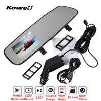 Universal 100 Degree 2 4 720P HD TFT Car DVR Dash Cam Rear View Mirror Kit