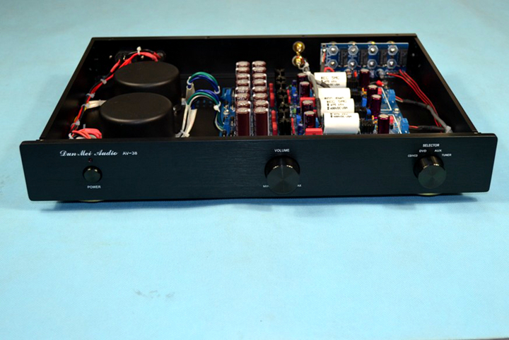 Finished JC-2 line class A hifi preamplifier with 2 toroid transformers цена