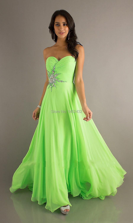 Online Get Cheap Long Lime Green Prom Dresses -Aliexpress.com ...